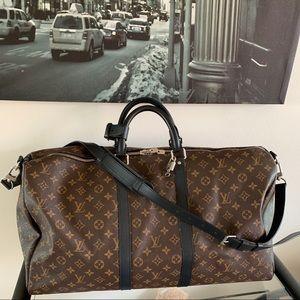 Louis Vuitton keepall bandouliere 55 macassar